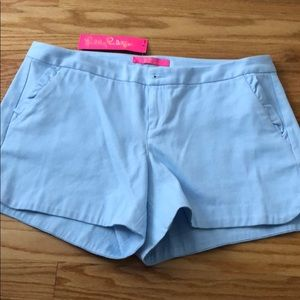 Lilly Pulitzer Shorts NWT Size 8 Crew Blue